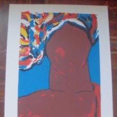 Arte: SIMONE, SERIGRAFÍA DEL ARTISTA GALLEGO XAVIER MAGALHANES. Lote 48963483