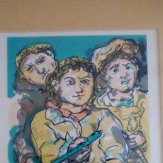 Arte: SERIGRAFÍA LAXEIRO FIRMADA A MANO. Lote 49358411