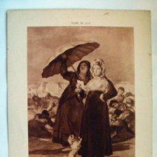 Arte: LAMINA SERIGRAFIA MUSEE DU LILLE AÑOS 20 23X17. Lote 49402082