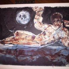 Arte: MOREA DOS SERIGRAFIAS ORIGINALES. Lote 49653448