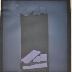 Arte: DAMASO RUANO SERIGRAFÍA DE 1976 , FIRMADA Y NUMERADA. Lote 50889011