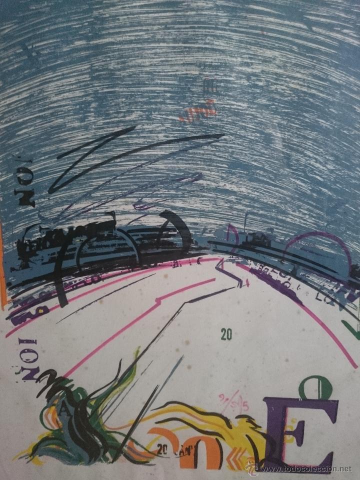 SERIGRAFIA FIRMADA Y NUMERADA EDICION LIMITADA 48/70 (Arte - Serigrafías )