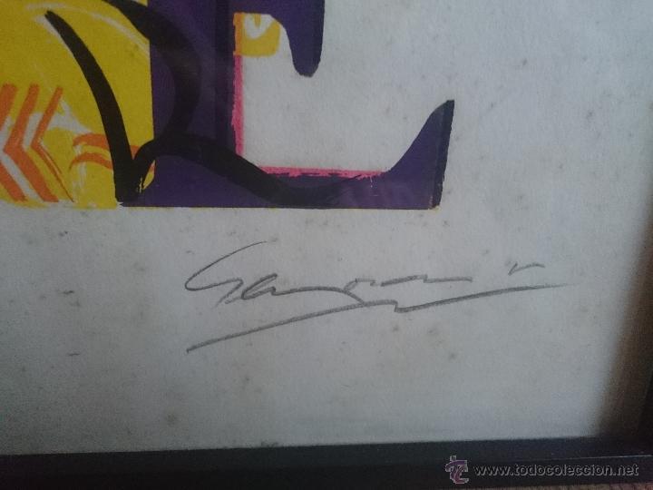 Arte: Serigrafia firmada y numerada edicion limitada 48/70 - Foto 4 - 50910463