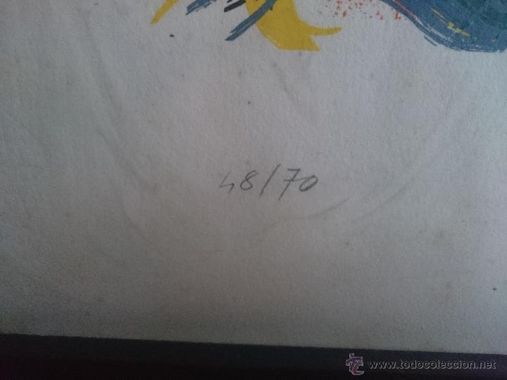 Arte: Serigrafia firmada y numerada edicion limitada 48/70 - Foto 6 - 50910463