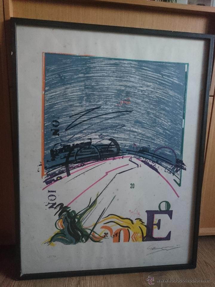 Arte: Serigrafia firmada y numerada edicion limitada 48/70 - Foto 7 - 50910463