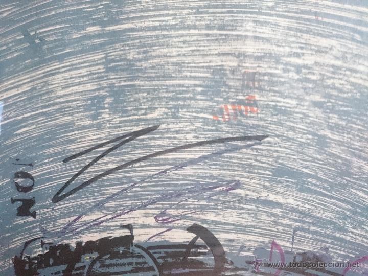 Arte: Serigrafia firmada y numerada edicion limitada 48/70 - Foto 8 - 50910463