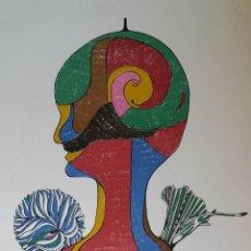Arte: RUPERT STÖCKL: HOMBRE, 1970 / SERIGRAFÍA FIRMADA Y NUMERADA A LÁPIZ. Lote 51739996