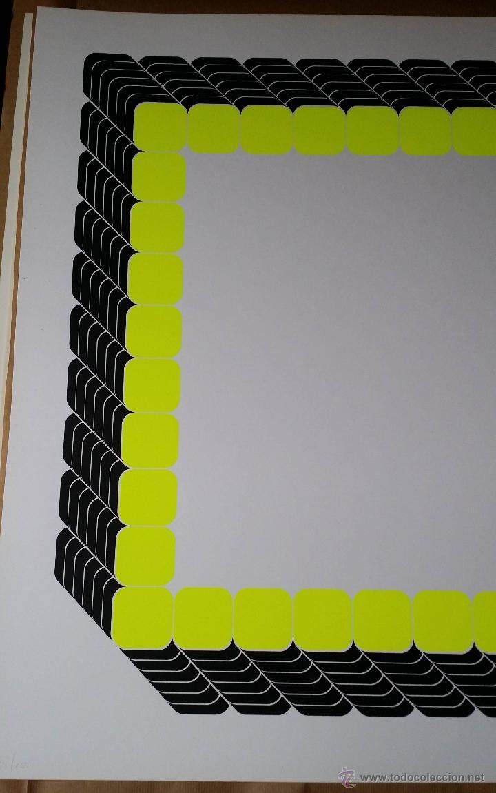 Arte: THOMAS LENK: Serígrafía, 1972 / firmada y numerada a lápiz - Foto 3 - 52458709