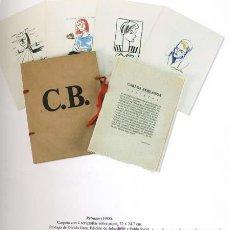 Arte: CARLOS BERLANGA - RETRATOS, 1988. Lote 198664736
