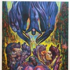 Arte: ERNST FUCHS: LA SALVACIÓN DE ADAM, 2012 / IMPRESIÓN EN LIENZO FIRMADA Y NUMERADA A MANO. Lote 52907359
