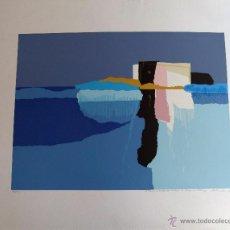 Arte: SERIGRAFIA DE JOAQUIN MICHAVILA 1982. Lote 53204146