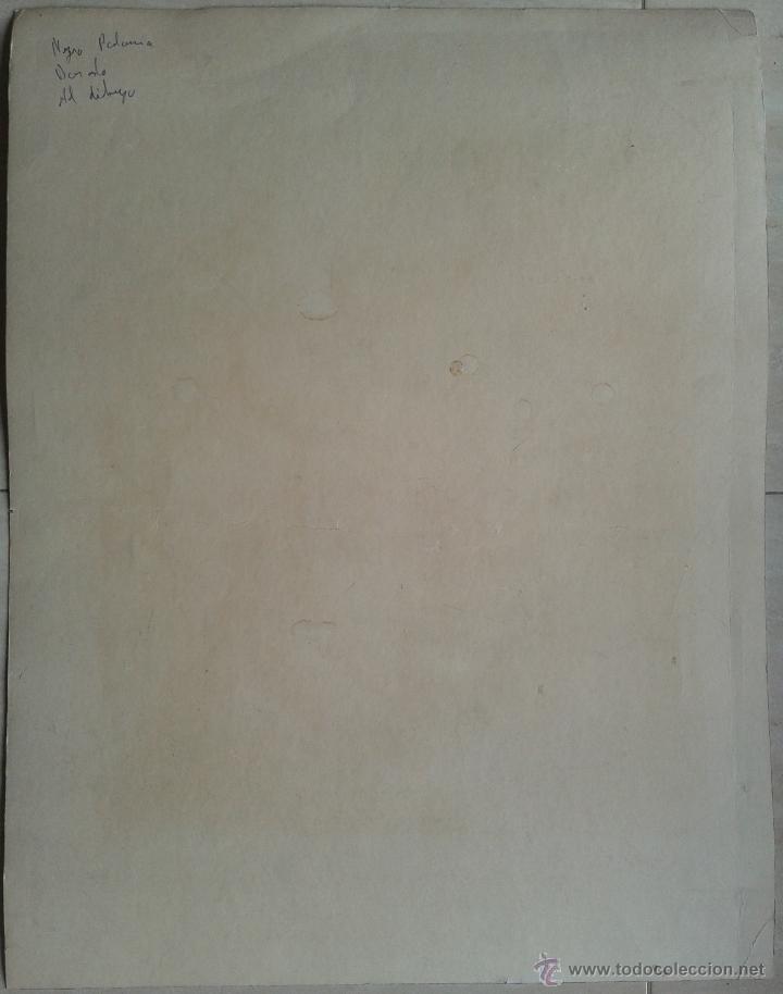 Arte: PACO SANCHO (MADRID, 1951) - SERIGRAFIA Nº 45 DE 50 - ENMARCADA CRISTAL 53 X 43 - Foto 3 - 53693154