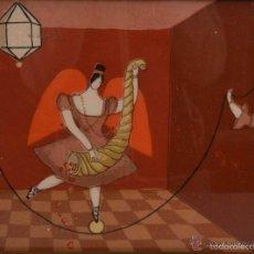 Arte: H. EITERER: LA FELICIDAD, 1985 / SERIGRAFÍA SOBRE VIDRIO / FIRMADA, FECHADA Y NUMERADA. Lote 56271947
