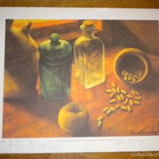 Arte: HOMENAJE A LA FABA / PABLO BASTERRECHEA / FIRMADO / 214 DE 300. Lote 56396292