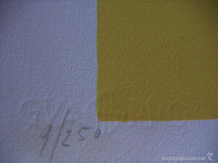 Arte: Serigrafia firmada a identificar - Foto 4 - 56576533
