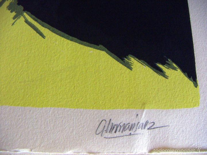 Arte: Serigrafia firmada a identificar - Foto 5 - 56576533