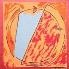 Arte: SERIGRAFÍA DE XARO CASTILLO EDICIÓN LIMITADA Y NUMERADA 1994 AÑOS 90. Lote 57858393