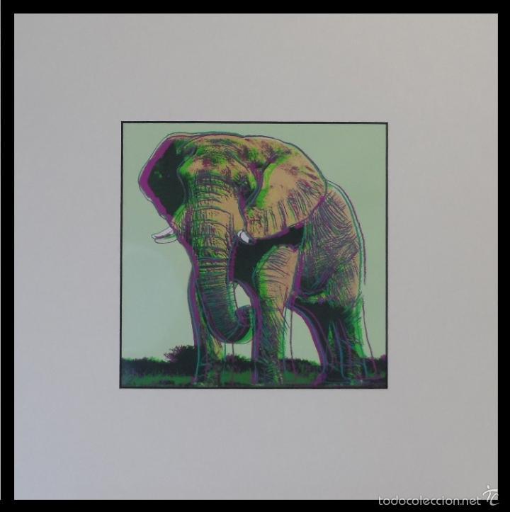 BONITA SERIGRAFIA DE ANDY WARHOL THE TIGER 02/06 NR. 293 EDICION LIMITADA A SOLO 1000 UNIDADES (Arte - Serigrafías )