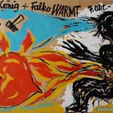 Arte: ROLF KÖNIG: SERIGRAFÍA, 1989 - FIRMADA Y NUMERADA. Lote 58240113