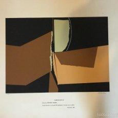 Arte: JOAQUÍN MICHAVILA ASENSI. Lote 58252821