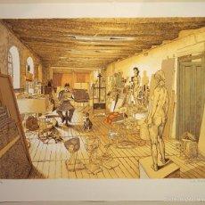 """Arte: """"ESTUDIO"""", SERIGRAFÍA ORIGINAL FIRMADA Y NUMERADA (26/99), DE MARCOS PALAZZI, SERIE LIMITADA. Lote 59917323"""