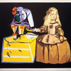 """Arte: """"BARCELONA MADRID"""", SERIGRAFÍA ORIGINAL FIRMADA Y NUMERADA (4/60), ED.LIMITADA, AUTOR JOAN J.GUILLEN. Lote 60265823"""