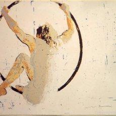 """Arte: """"HOOP"""", SERIGRAFÍA FIRMADA Y NUMERADA (28/99), ED. LIMITADA, AUTOR MAGÍ PUIG. Lote 60267531"""