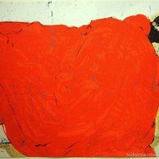 """Arte: """"RED DREAM"""", SERIGRAFÍA FIRMADA Y NUMERADA (29/99), ED. LIMITADA, AUTOR MAGÍ PUIG. Lote 60267787"""