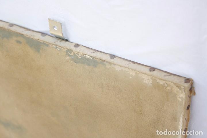 Arte: Antigua Serigrafía sobre tela, principios del siglo XX finales del XIX - Hipódromo - 93 x 61 CM - Foto 17 - 62957404