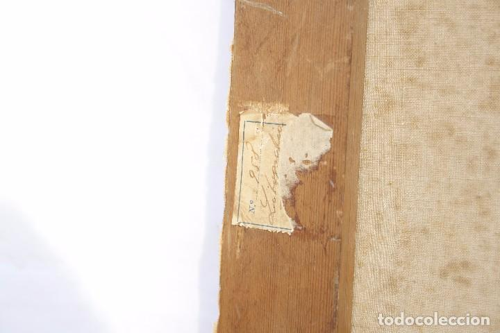 Arte: Antigua Serigrafía sobre tela, principios del siglo XX finales del XIX - Hipódromo - 93 x 61 CM - Foto 25 - 62957404