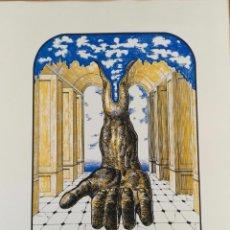 Arte: VICENTE LOPEZ DE ARROYABE - SERIGRAFIA ORIGINAL FIRMADA Y NUMERADA - 37/150. Lote 63545848