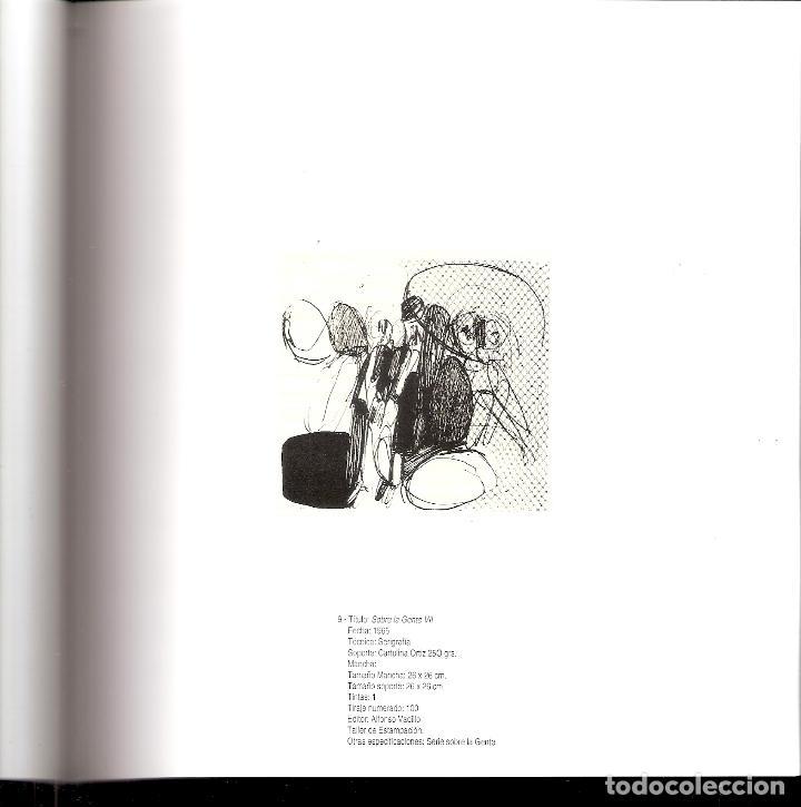 Arte: José Luis Alexanco.*Sobre la gente VII*.1965.Serigrafía.Nº 63/100.Editor Alfonso Vadillo.Catalogada. - Foto 5 - 66078390