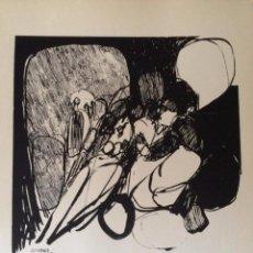 Arte: JOSÉ LUIS ALEXANCO.*SOBRE LA GENTE VIII*.1965.SERIGRAFÍA.Nº 63/100.EDITOR ALFONSO VADILLO.CATALOGADA. Lote 66080102
