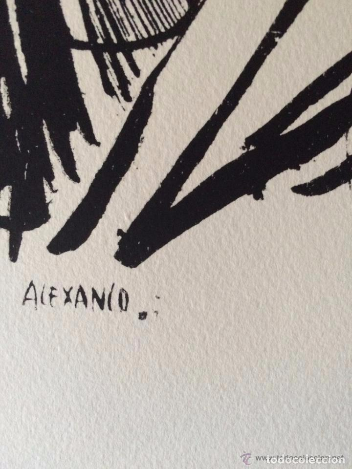 Arte: José Luis Alexanco.*Sobre la gente VIII*.1965.Serigrafía.Nº 63/100.Editor Alfonso Vadillo.Catalogada - Foto 3 - 66080102