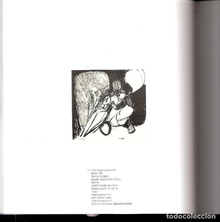 Arte: José Luis Alexanco.*Sobre la gente VIII*.1965.Serigrafía.Nº 63/100.Editor Alfonso Vadillo.Catalogada - Foto 5 - 66080102