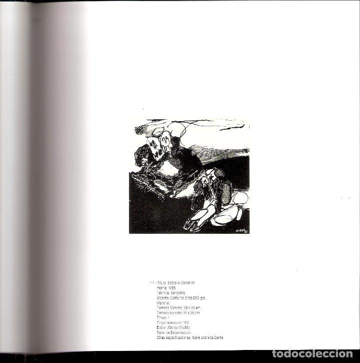Arte: José Luis Alexanco.*Sobre la gente IX*.1965.Serigrafía. Nº 63/100.Editor Alfonso Vadillo.Catalogada. - Foto 4 - 66081070