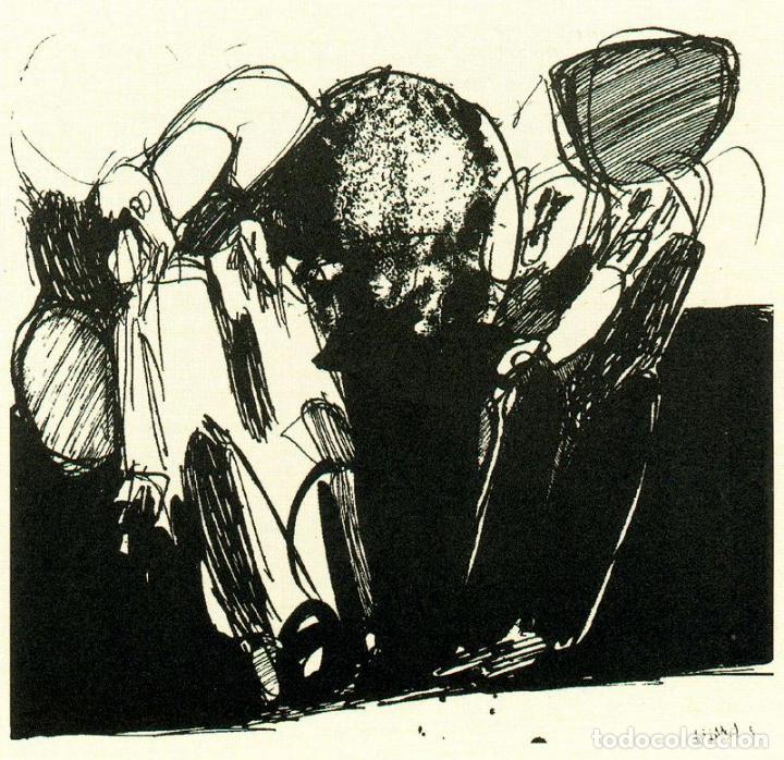 Arte: José Luis Alexanco.*Sobre la gente V*.1965.Serigrafía. Nº 63/100.Editor Alfonso Vadillo.Catalogada. - Foto 2 - 66081314