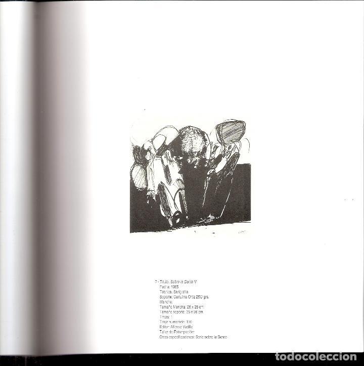 Arte: José Luis Alexanco.*Sobre la gente V*.1965.Serigrafía. Nº 63/100.Editor Alfonso Vadillo.Catalogada. - Foto 4 - 66081314