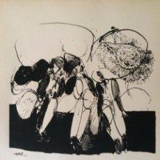 Arte: JOSÉ LUIS ALEXANCO.*SOBRE LA GENTE IV*.1965.SERIGRAFÍA. Nº 63/100.EDITOR ALFONSO VADILLO.CATALOGADA.. Lote 66081510
