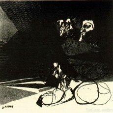 Arte: JOSÉ LUIS ALEXANCO.*SOBRE LA GENTE XV*.1965.SERIGRAFÍA. Nº 63/100.EDITOR ALFONSO VADILLO.CATALOGADA.. Lote 66081974