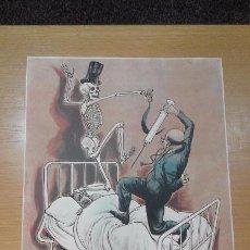 Arte: LÁMINA COLECCIÓN MÉDICA LERMA. Nº 1. DIBUJO DE GOÑI. Lote 67724493