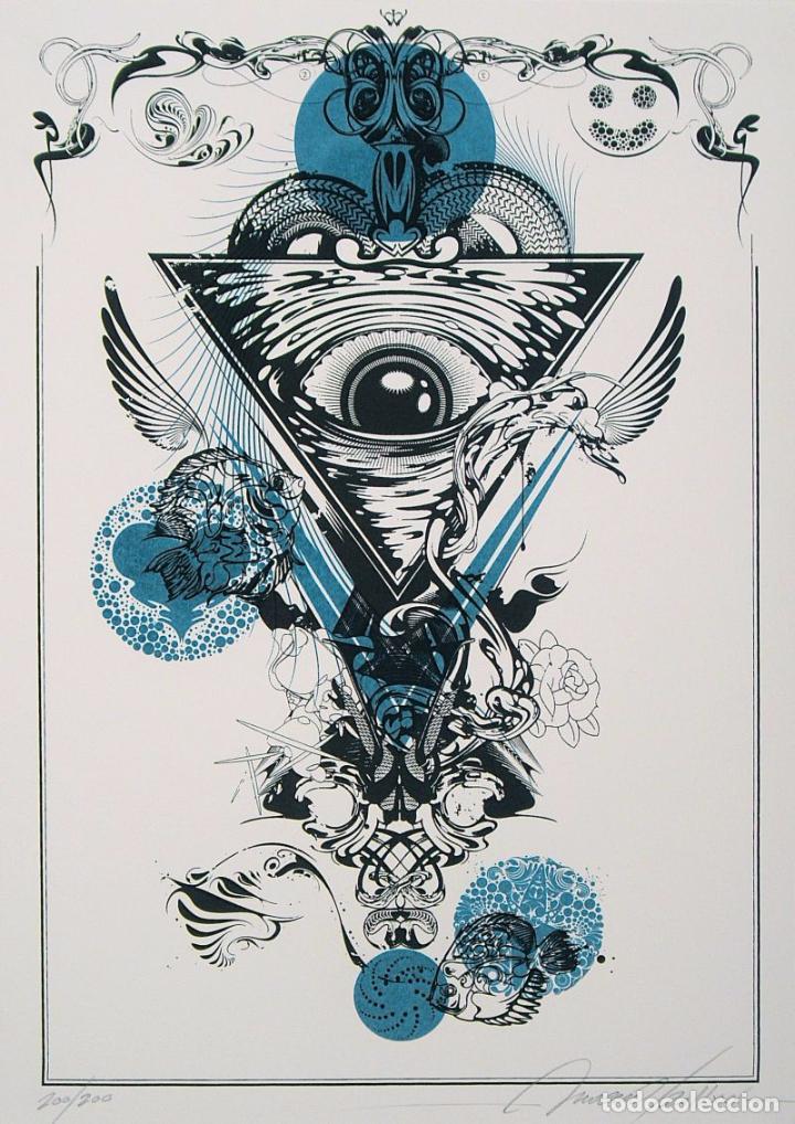 INOCUO (JAVIER GUTIÉRREZ) - S/T (SERIGRAFÍA DISEÑO EDICIÓN DE 200 COPIAS NUMERADAS Y FIRMADAS) (Arte - Serigrafías )