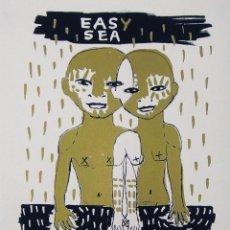 Arte: RAQUEL SAKRISTAN - S/T (SERIGRAFÍA ILUSTRACIÓN EDICIÓN DE 200 COPIAS NUMERADAS Y FIRMADAS). Lote 84980390
