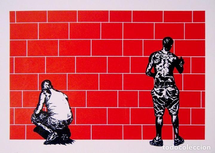 MARCO ZAMORA EDICIÓN LIMITADA SERIGRAFÍA ILUSTRACIÓN EDICIÓN DE 200 COPIAS NUMERADAS Y FIRMADAS POR (Arte - Serigrafías )