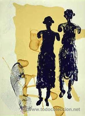 JOSÉ FREIXANES SERIGRAFÍA FACTURA DE LA EDITORA. PONTEVEDRA. GALICIA NUEVO (Arte - Serigrafías )