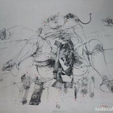 Arte: (M) SERIGRAFIA DEL ARTISTA VLADIMIR VELICKOVIC 1973 SERIGRAFIA FIRMADA Y NUMERADA 50/90. Lote 78997569