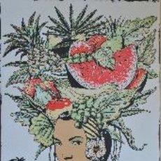 Arte: FERNANDO BELLVER, AMÉRICA, SERIGRAFÍA. Lote 49120886