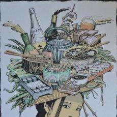 Arte: FERNANDO BELLVER, ASIA, SERIGRAFÍA. Lote 49120897