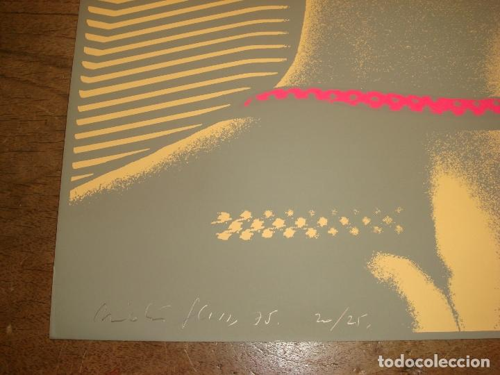 "Arte: NICOLAS GLESS, 1975, SERIGRAFIA COLOR ""VENEZIA"". Nº.20/25 - Foto 3 - 81744320"
