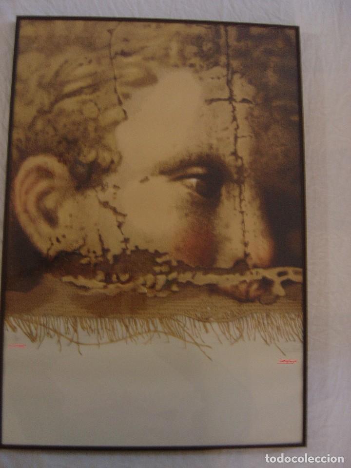 SERIGRAFÍA DE MANUEL BOIX FIRMADA Y NÚMERADA 6/75,SERIE BARROC (Arte - Serigrafías )